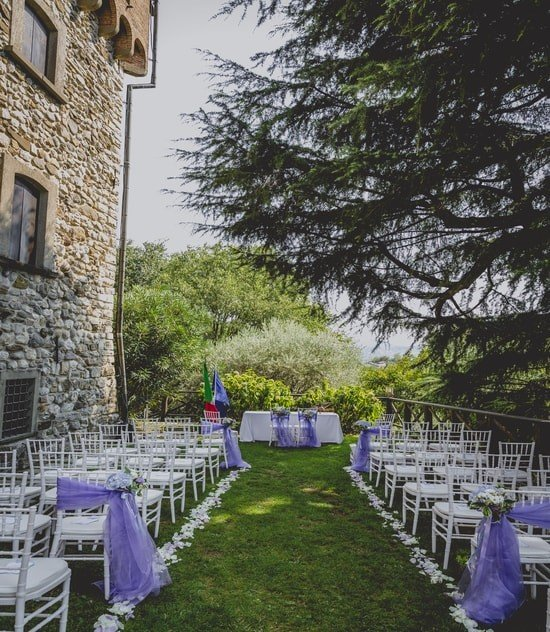 destination weddings in Europe - Italian ceremony
