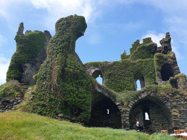 Elopement Packages Ireland Castle Ruin